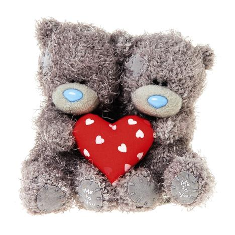 "2 x 4"" Me to You Bears Holding Padded Love Heart  £12.00"