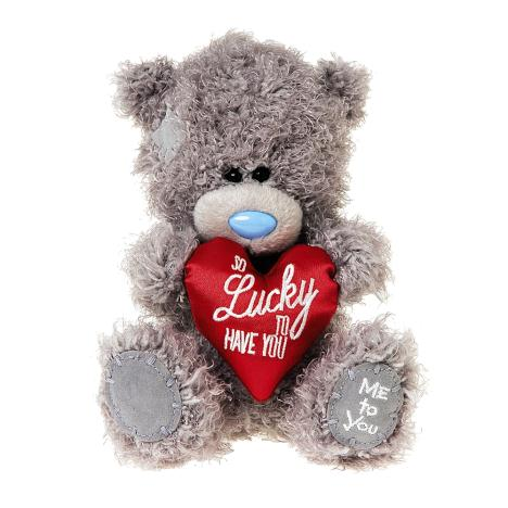 "7"" So Lucky to Have You Padded Heart Me to You Bear  £10.00"