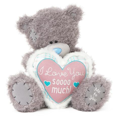 "16"" Love You Sooo Much Padded Heart Me to You Bear  £35.00"