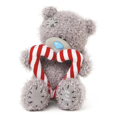 "4"" Candy Cane Heart Me to You Bear  £6.00"