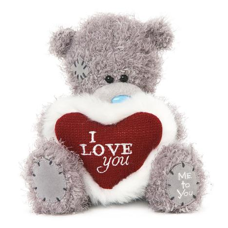 "7"" I Love You Padded Heart Me to You Bear  £10.00"