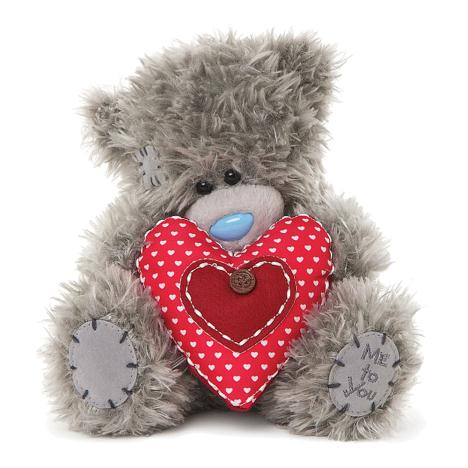 "7"" Holding Padded Heart Me to You Bear  £10.00"