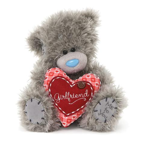 "7"" Padded Heart Girlfriend Me to You Bear  £10.00"
