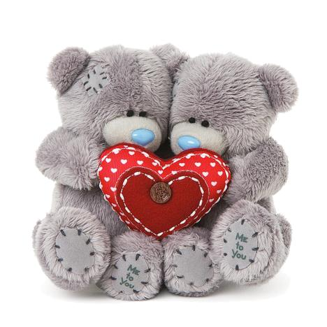 "2 x 4"" Holding Heart Me to You Bear Couple  £12.00"