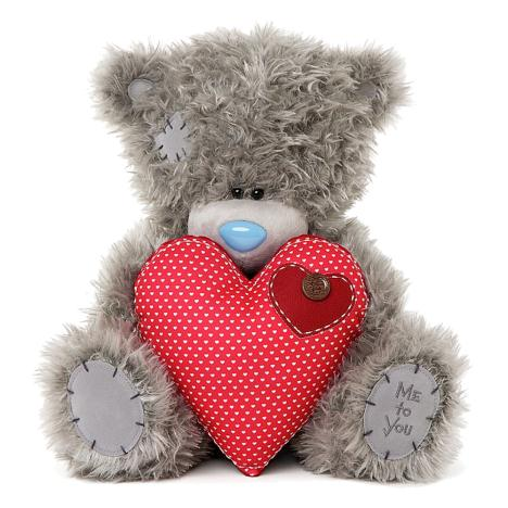 "12"" Holding Red Heart Me to You Bear   £14.99"