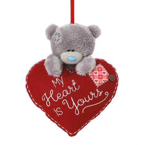 "4"" Hanging Me to You Bear On Padded Heart  £6.00"