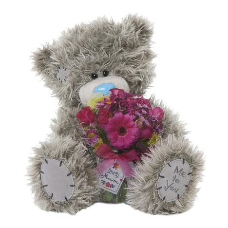 "10"" Lovely Mum Flower Bouquet Me to You Bear  £19.99"