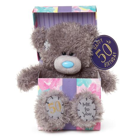 "7"" 50th Birthday Me to You Bear In Gift Box  £9.99"