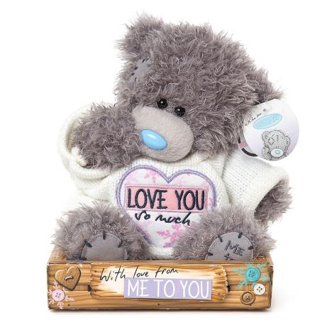 "7"" Love You So Much Jumper Me to You Bear  £9.99"