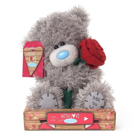 "7"" Love You Rose Me to You Bear  £9.99"