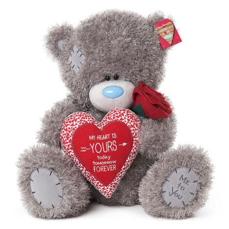 "20"" My Heart is Yours Padded Heart Me to You Bear   £39.99"