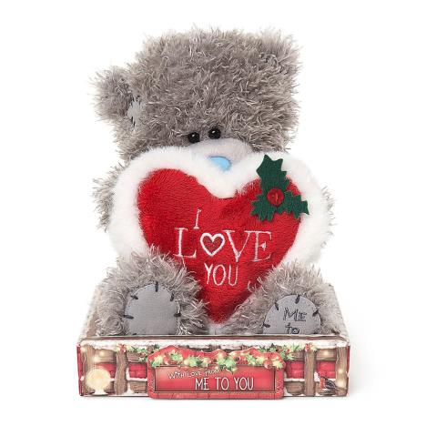 "7"" I Love You Padded Heart Me To You Bear  £10.99"