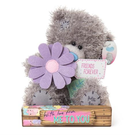 "7"" Friends Forever Purple Flower Me to You Bear   £9.99"