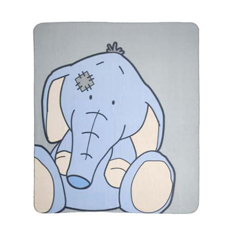 Toots the Elephant My Blue Nose Friends Me to You Bear Fleece Blanket  £12.99