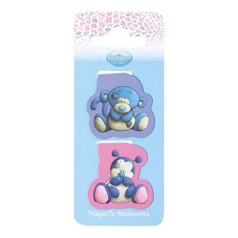 Coco & Dot My Blue Nose Friends Magnetic Bookmarks  £2.99
