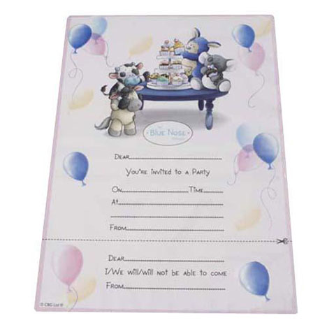 My Blue Nose Friends Party Invitations Pack of 8 Pack of 8 £1.99