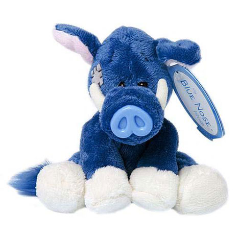 "4"" My Blue Nose Friend Trotters the Wild Boar  £5.00"