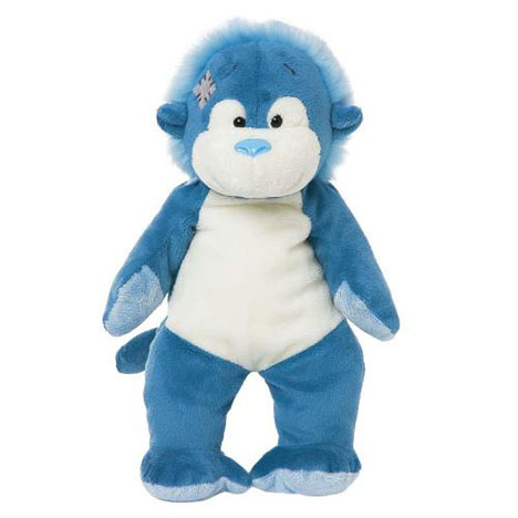 "10"" Jungle the Orangutan Floppy My Blue Nose Friend  £7.99"