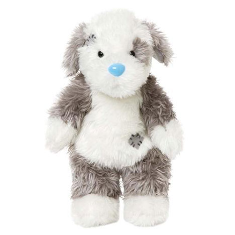 "10"" Fluffy the Sheepdog Floppy My Blue Nose Friend  £7.99"