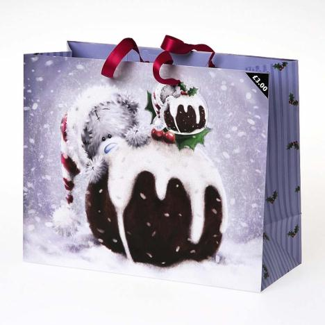 Large Me to You Bear Christmas Pudding Gift Bag   £3.00