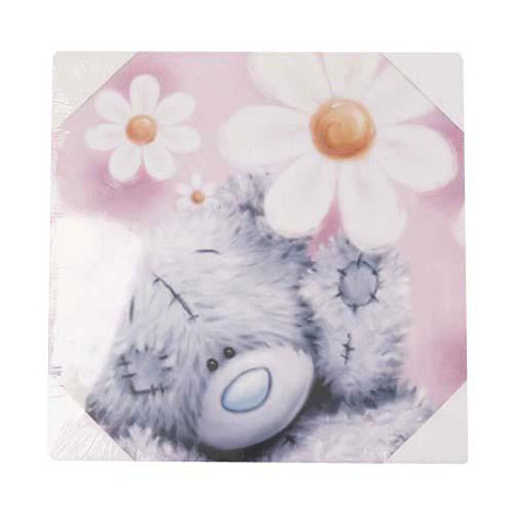 Flower Me to You Bear Canvas Print Large Large £9.99