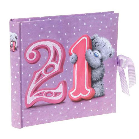 21st Birthday Me to You Bear Photo Album    £14.00