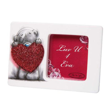 Sketchbook Me to You Bear Mini Frame with Glitter Heart  £3.99