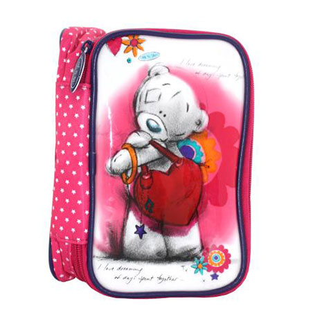 Me to You Bear Make Up Bag with Brushes Set   £12.99
