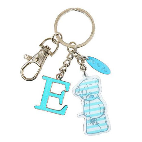 E Me to You Bear Enamel Alphabet Keyring Bag Charm   £4.00