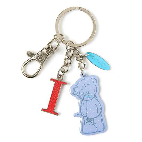 I Me to You Bear Enamel Alphabet Keyring Bag Charm   £4.00