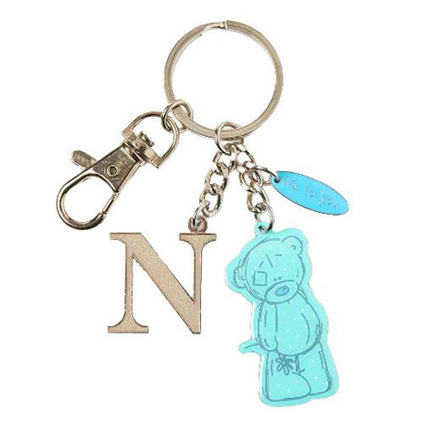 N Me to You Bear Enamel Alphabet Keyring Bag Charm   £4.00