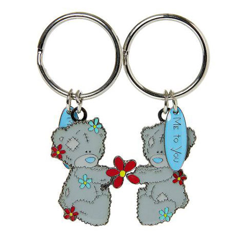 Me to You Bear Flowers 2 Part Keyring   £6.00