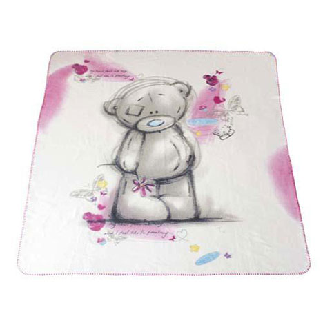 Sketchbook Me to You Bear Fleece Blanket  £14.99