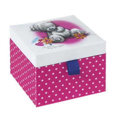 Sketchbook Me to You Bear Fabric Trinket Box  £4.99