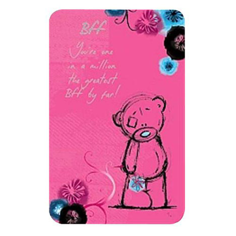 BFF Me to You Bear Friendship Card  £1.25