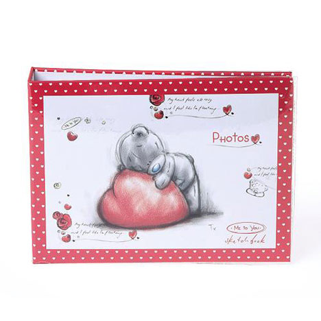 Me to You Bear Love Heart Sketchbook Photo Album  £4.99