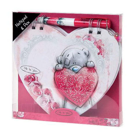 Sketchbook Heart Shaped Me to You Bear Notebook & Pen  £6.99