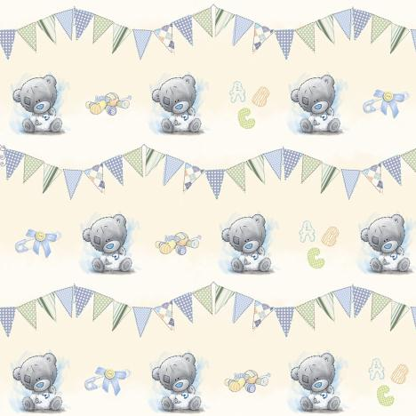 Baby Boy Me to You Bear Gift Wrap & Tags Set  £1.00