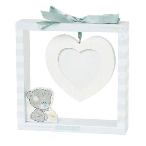Tiny Tatty Teddy Babys Hanging Heart Frame  £10.00