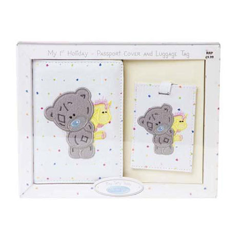 My 1st Holiday Me to You Bear Passport and Luggage Tag Set  £9.99