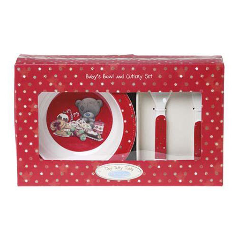 Tiny Tatty Teddy Bowl and Cutlery Me to You Bear Gift Set  £9.99