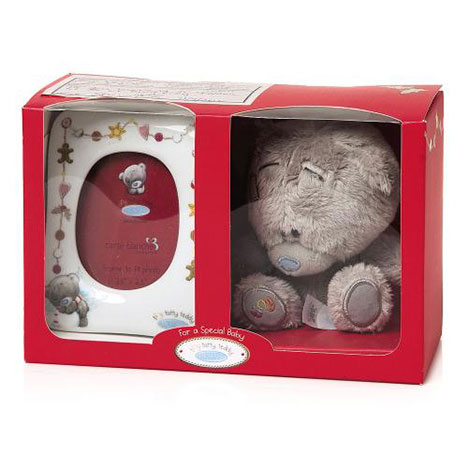 "Tiny Tatty Teddy 4"" Me to You Bear and Frame Gift Set  £12.99"