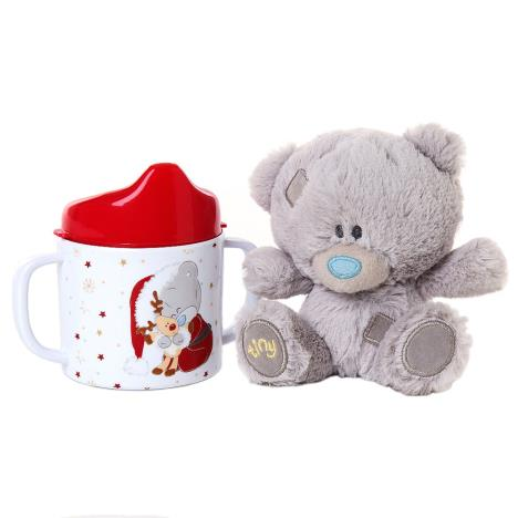"4"" Tiny Tatty Teddy Bear & Beaker Gift Set   £10.00"