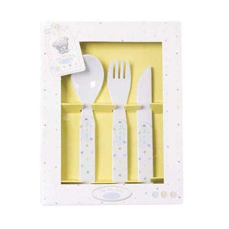 Tiny Tatty Me to You Bear Cutlery Set   £3.99