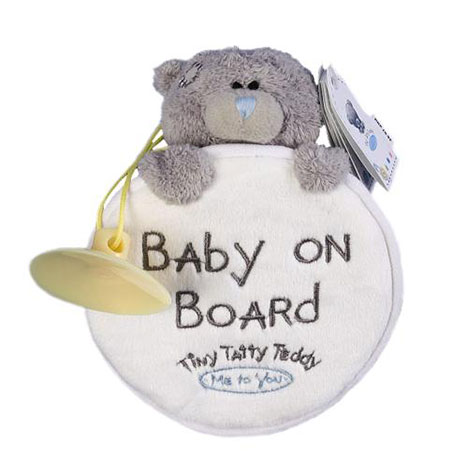 Tiny Tatty Baby on Board Me to You Bear Car Hanger   £8.99