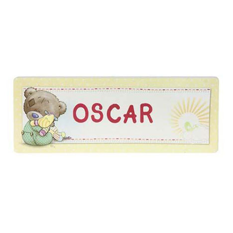 Tiny Tatty Teddy Me to You Bear Personalised Door Plaque   £4.99