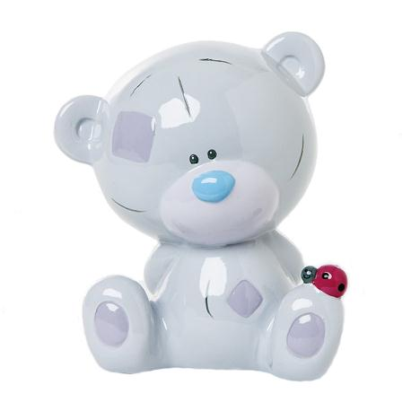 Tiny Tatty Teddy With Ladybird Bone China Moneybox  £12.00