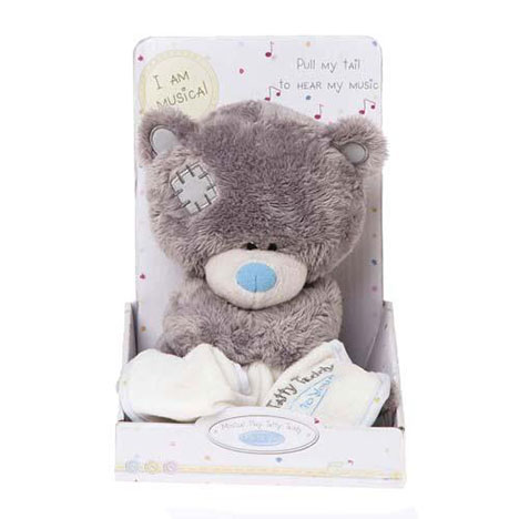 "8"" Musical Tiny Tatty Teddy Holding Blanket Me to You Bear  £19.99"