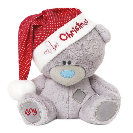 "9"" My 1st Christmas Tiny Tatty Teddy in Santa Hat   £15.00"