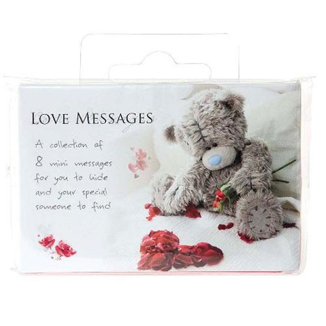 Me to You Bear Love Messages Pack of 8 Pack of 8 £2.49